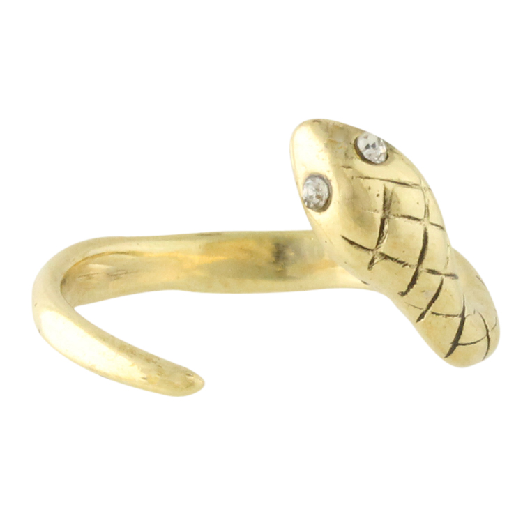 Victor Gets the Coils Snake Wrap Ring Bracelet