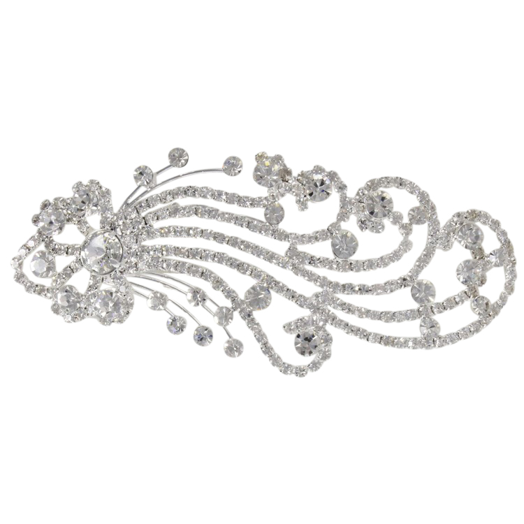 Waves of Deco Hair Clip