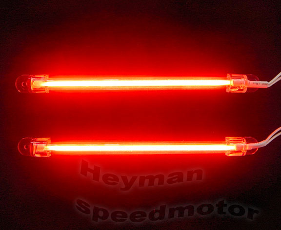 heyman 2x 6 red neon light car exterior interior lamp 364 ebay. Black Bedroom Furniture Sets. Home Design Ideas