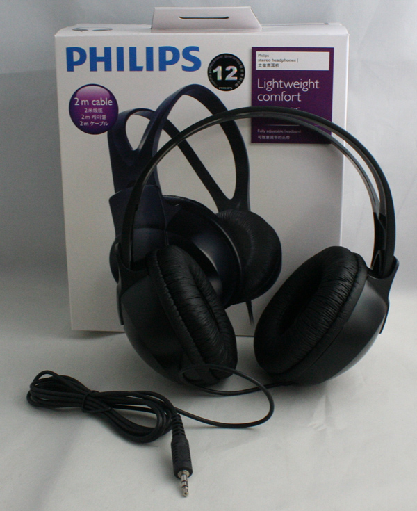 Philips SHP1900 Music Audio Stereo Headphones for iphone ...