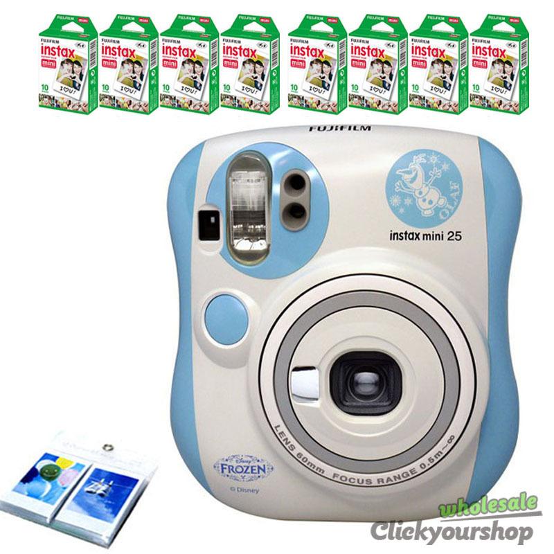fujifilm instax mini 7s garfield polaroid instant camera fuji 100 film album ebay. Black Bedroom Furniture Sets. Home Design Ideas