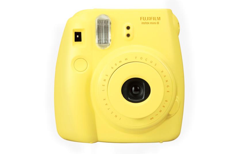 Fujifilm Instant Instax Mini 8 Polaroid Camera Yellow ...