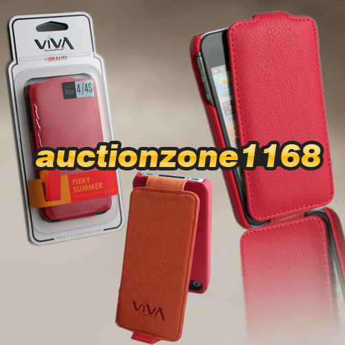 0683-Viva-Vibrante-Series-Flipcaso-Flip-Leather-Case-Cover-for-iPhone-4-4S-Gift