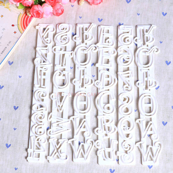 letter cutters for cake decorating