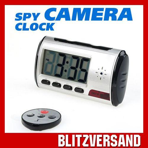Spy-Cam-Uberwachungskamera-Wecker-Bewegungsmelder