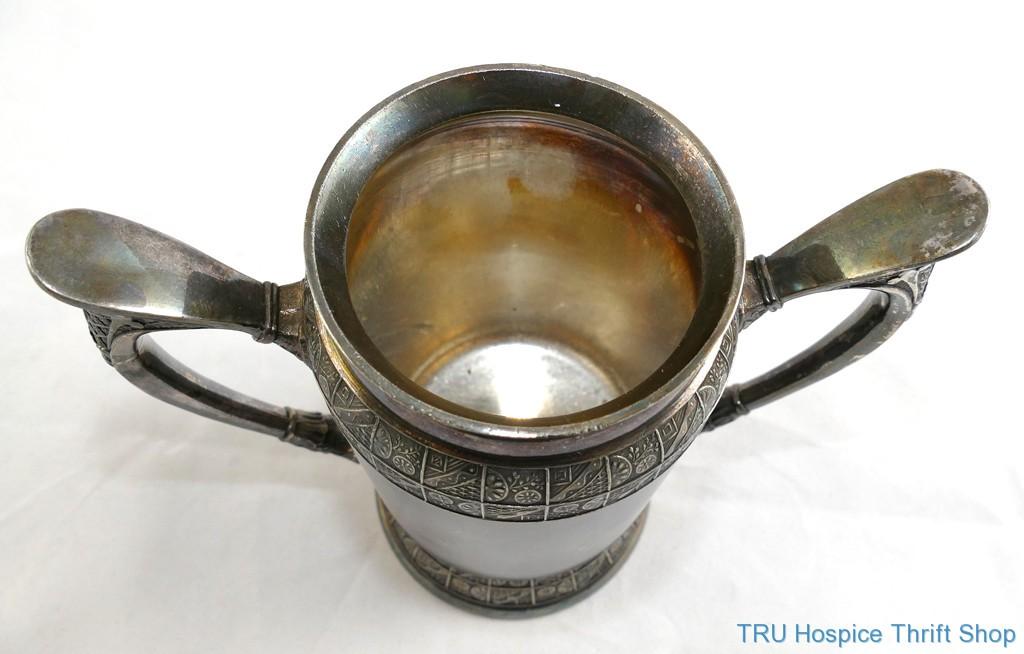 Antique Unusual Derby Silver Spoon Holder C1873 1898