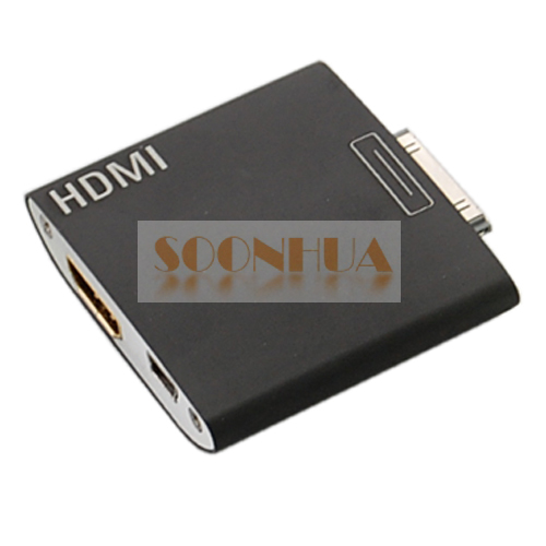 how to connect iphone 4 to hdmi tv