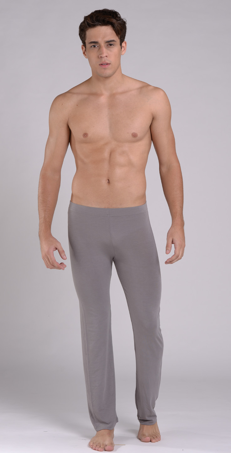New Men'S Sheer Modal Lounging Yoga Pants - Pants - MEN -Paradise Silk