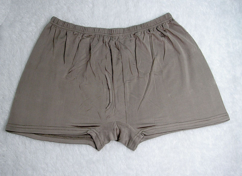 2P Knit New Silk Mens Briefs Boxer Shorts 2XL 40 42