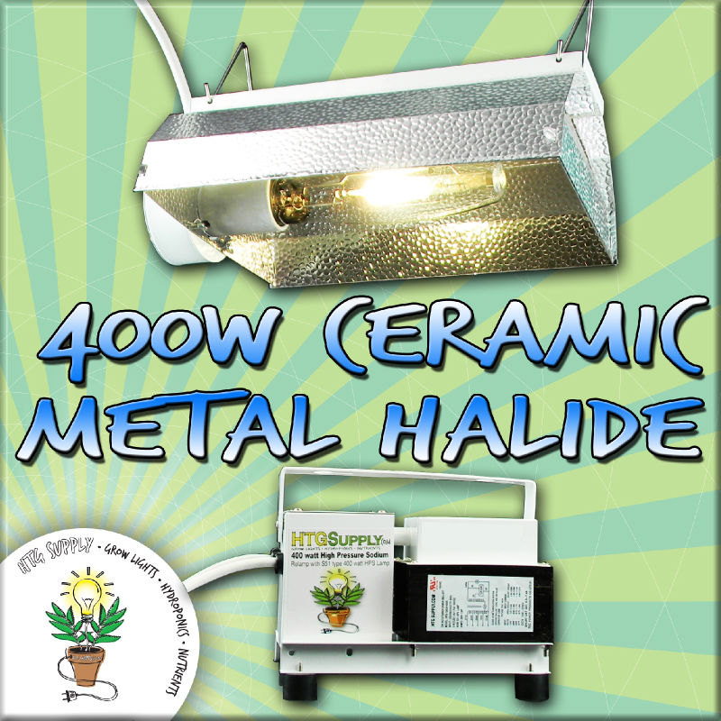 400 Watt CERAMIC MH CMH GROW LIGHT 400w Metal Halide W
