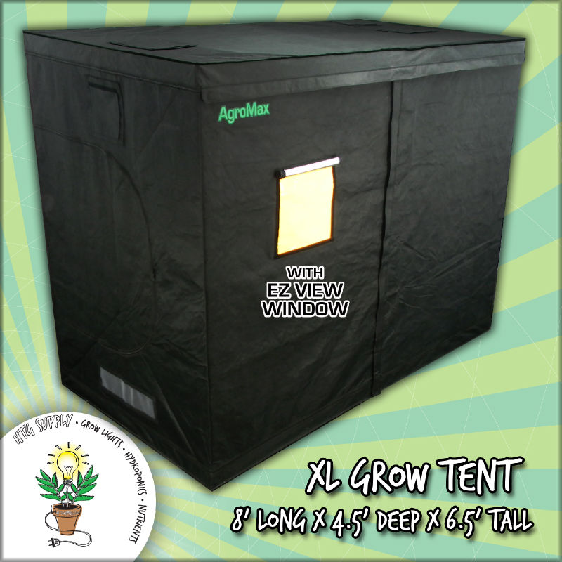 4 X 8 Grow Tent Mylar Cabinet Box Hut Hydro Home Room