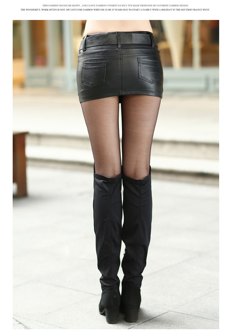 Women's New Fashion Casual Slim Sexy Micro Mini Solid Tight Short ...