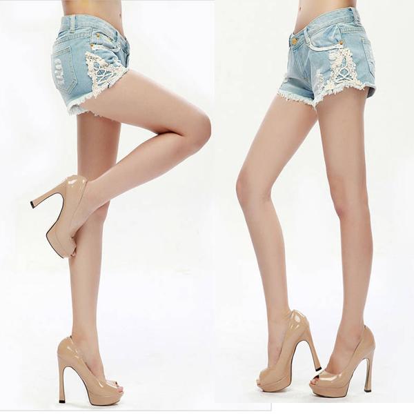 hot girls in cut off shorts