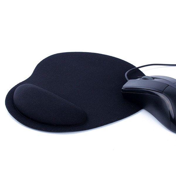 New-Black-Useful-Mouse-Mat-Wrist-Comfort-For-Optical-Trackball-Mouse-Mice-Pad