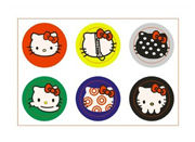 6X Premium Adorable Hello Kitty Home Button Sticker for iPhone 3G 3GS