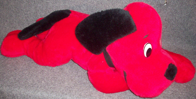 22 CLIFFORD THE BIG RED DOG Plush Stuffed Animal