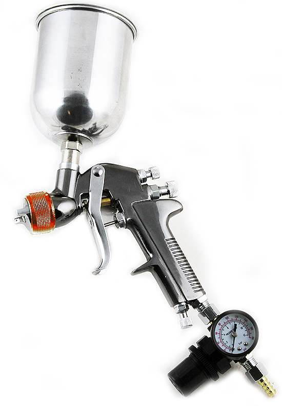 hvlp gravity feed spray gun air painting coat. Black Bedroom Furniture Sets. Home Design Ideas