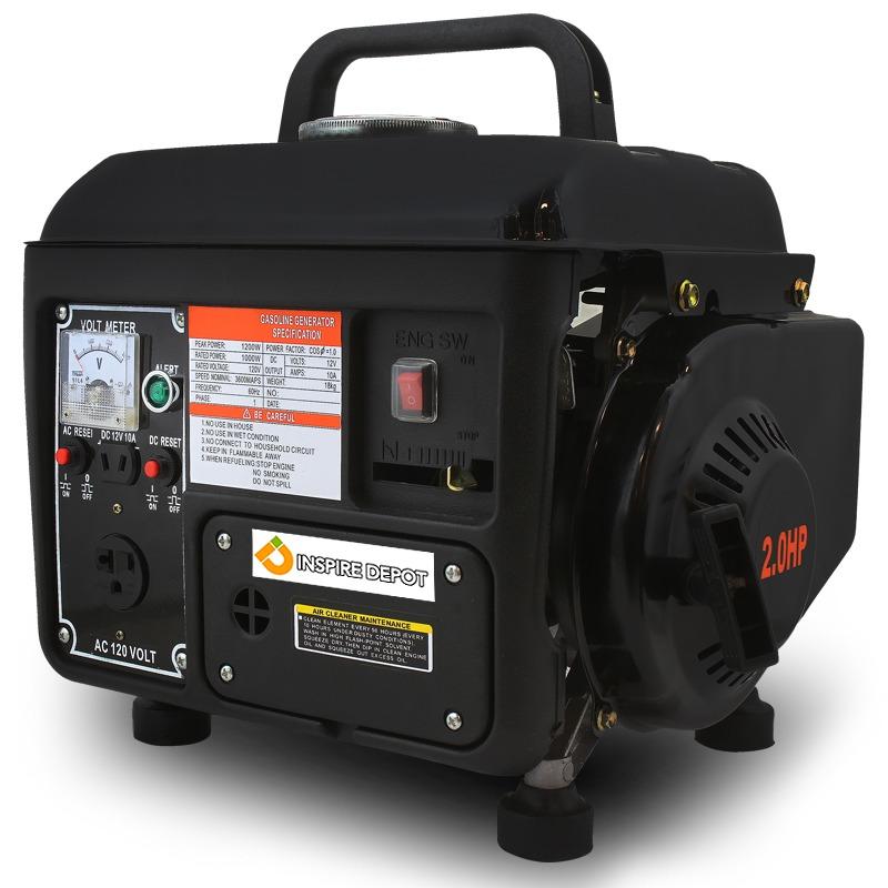 1200 Watt Portable Gasoline Electric Gas Generator Power 2