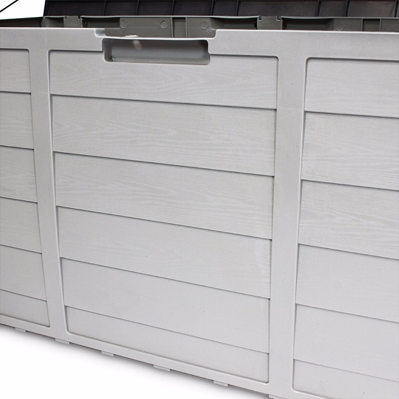 Outdoor Patio Deck Box All Weather Large Storage Cabinet Container  Organizer. Product Description