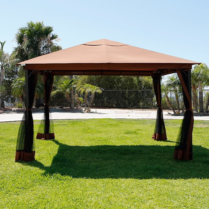 10 39 x 12 39 regency patio canopy gazebo mosquito net netting - Insect netting for gazebo ...