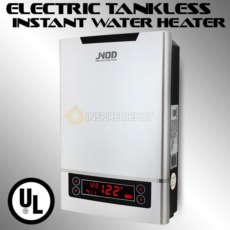 electric tankless heater instant hot water on demand 3 2 gpm ul csa digital etl ebay. Black Bedroom Furniture Sets. Home Design Ideas