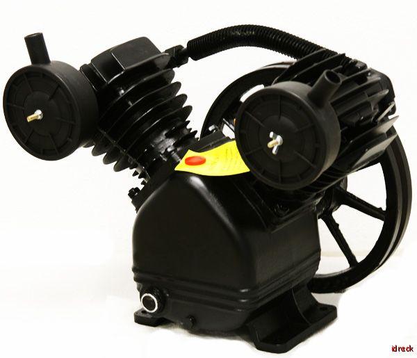 Replacement air pump compressor 5hp motor compressor v for Air compressor pump and motor