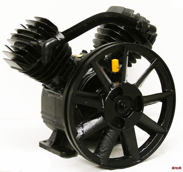 Replacement air pump compressor 5hp motor compressor v for Air compressor pump and motor replacement