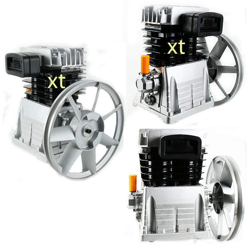 Air compressor pump 3hp motor aluminum 10 1 2 flywhee 11 5cfm for Air compressor pump and motor