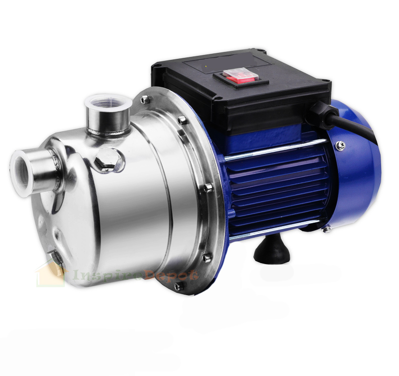 Stainless Water Pump : Stainless steel jet shallow water booster pressure pump