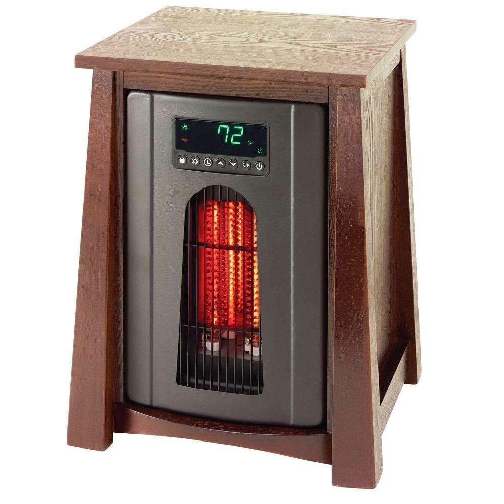 Lifesmart lifepro 8 element infrared quartz heater for Small room quartz heater