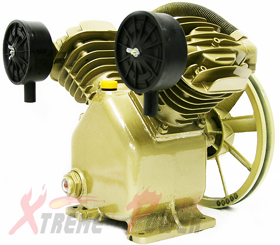 11 2 Cfm 120 Psi Twin Cylinder Air Compressor Pump For 3hp Motor Replacement