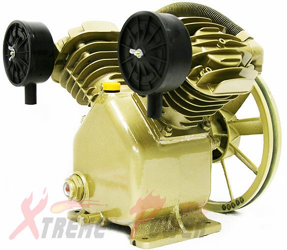 11 2 cfm 120 psi twin cylinder air compressor pump for 3hp for Air compressor pump and motor