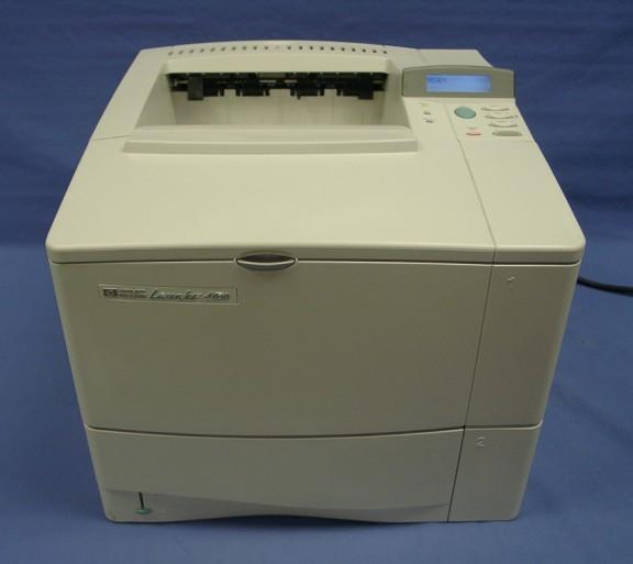 hp laserjet 4050laser printer. Black Bedroom Furniture Sets. Home Design Ideas