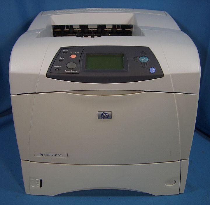 HP LaserJet 4200 Printer series