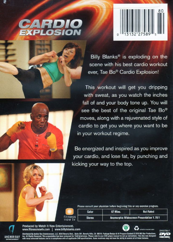 Billy Blanks: Tae Bo - Get Celebrity Fit, Cardio by Billy ...