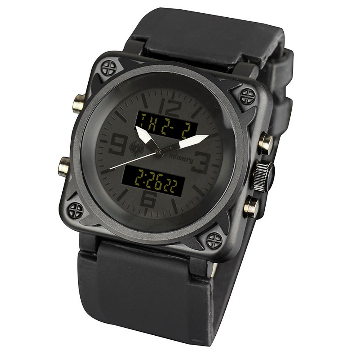 Black Colour Wrist Watch