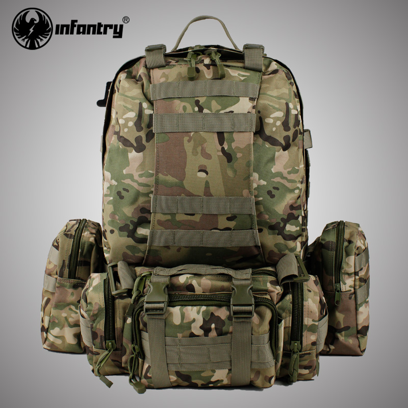 NEW Infantry US Army 50L Assault Molle Heavy Duty Backpack ...