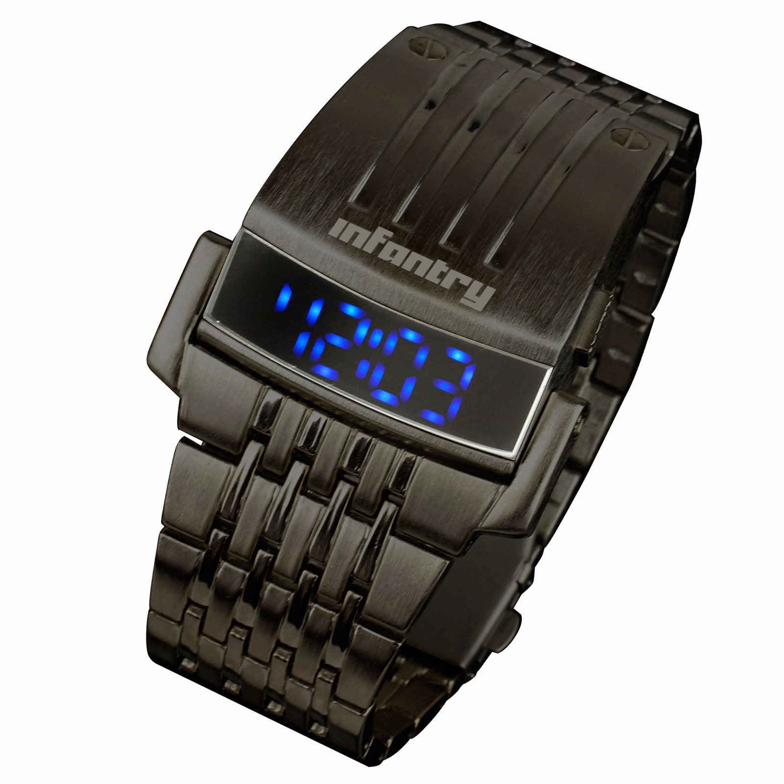 Blue-LED-Infantry-Mens-Digital-Date-Day-Military-Sports-Quartz-Wristwatch-Watch