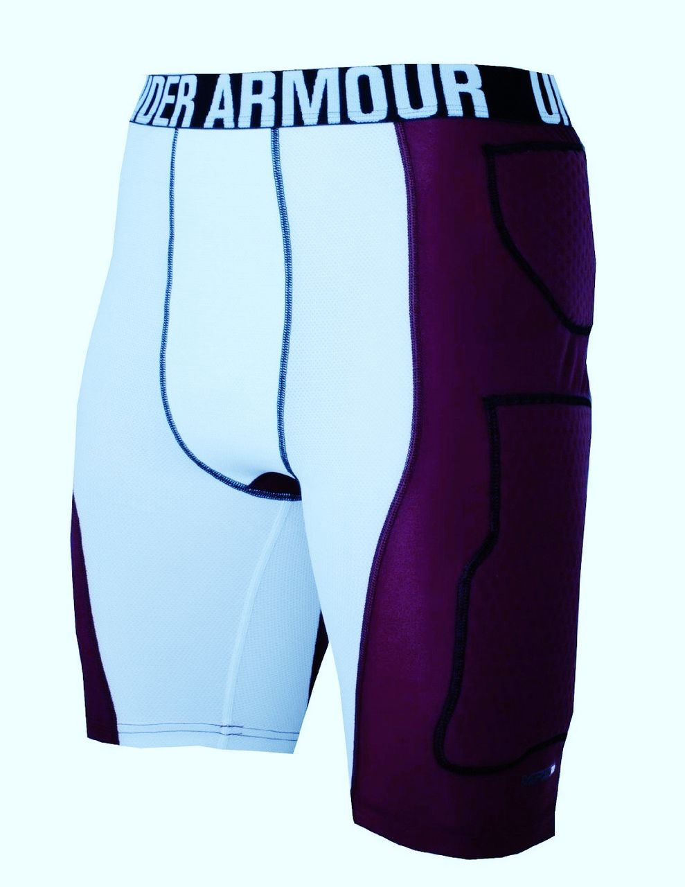 Under Armour Compression Shorts With Pads New Mens L Unde...