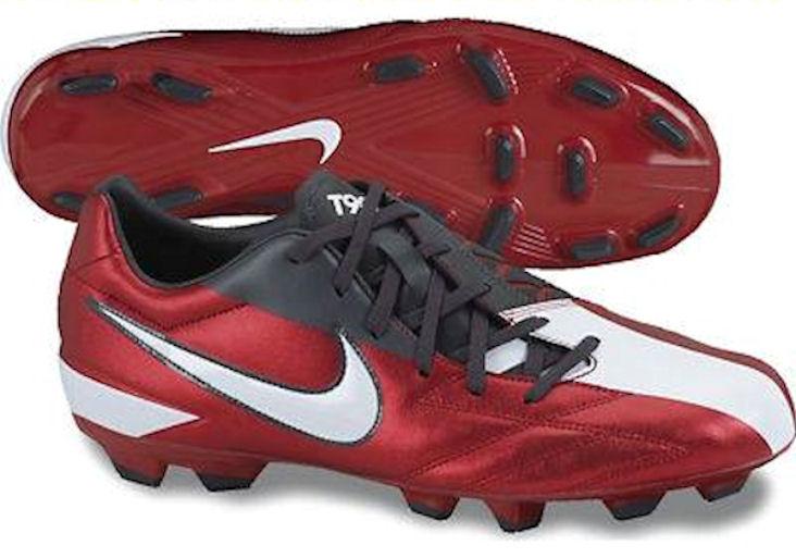 NIKE Nike t90 shoot iv fg zapatillas red fubol hombre XBLd1mHz