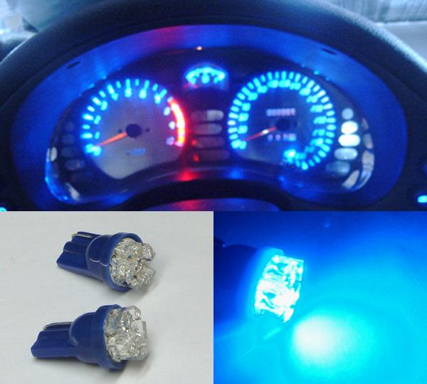 4x-T10-6-LED-Blue-Dash-Kit-For-Commodore-VR-VP-VL-VN-VS