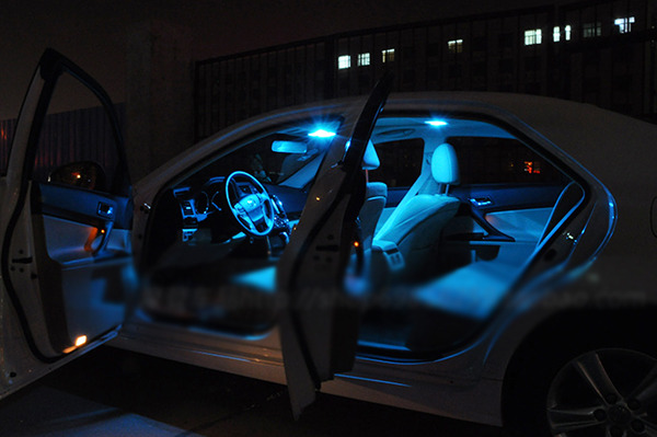 Ice Blue 7x Bright Led Lights Interior Package Kit For Toyota Corolla 2014 Up