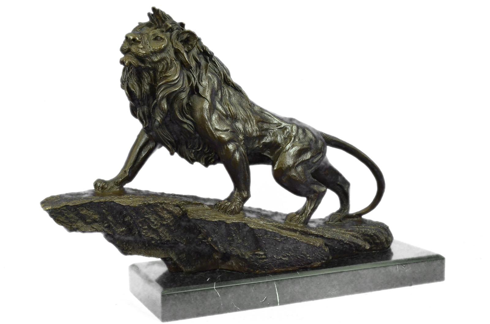狮子签署了巴列青铜雕塑雕像雕像