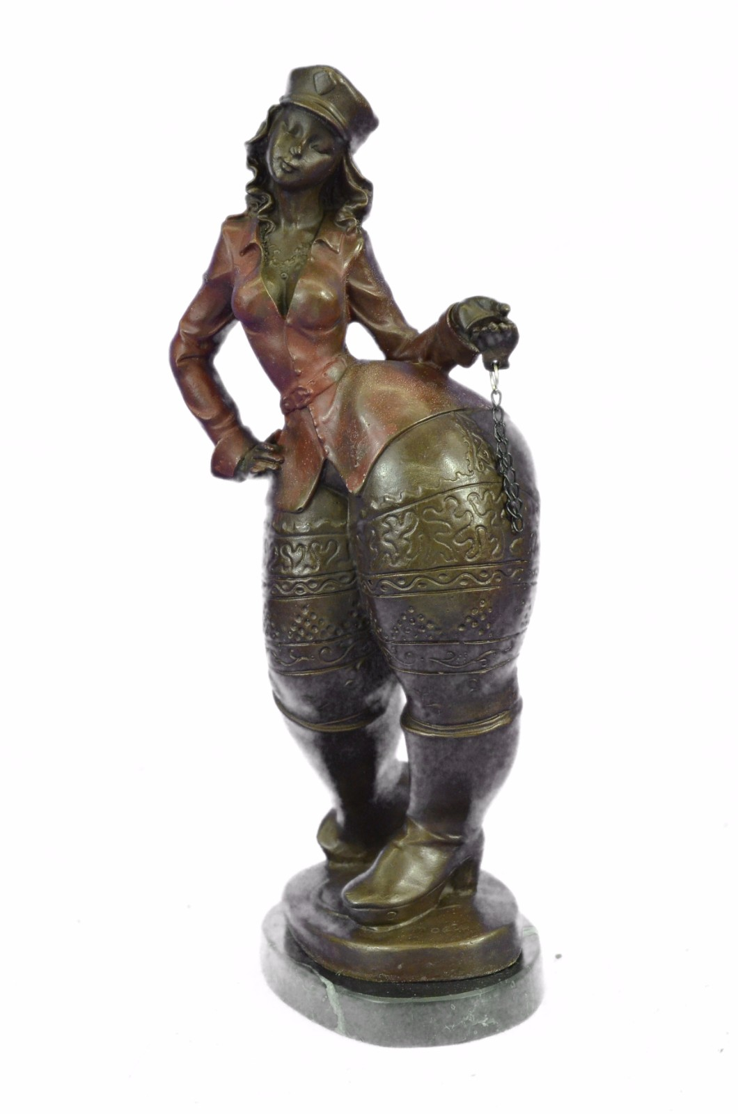 2 days sale signed original roelna tribute botero style - Bronze sculptures for sale ...
