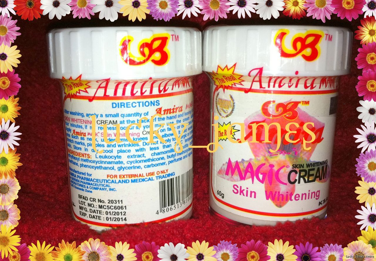 Real AMIRA Magic Cream Underarm Spots Skin Whitening