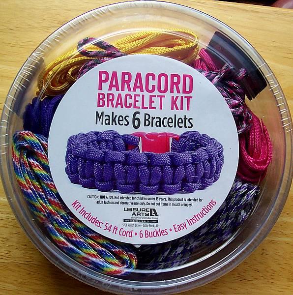 paracord bracelet kit for girls makes 6 purple pink