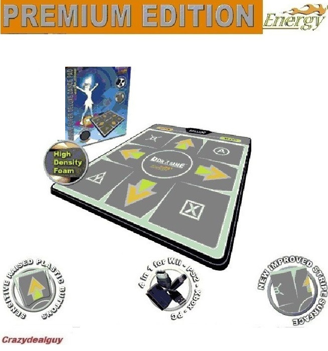 High Dense Energy Foam Deluxe Ddr Pc Xbox Ps2 Wii Dance