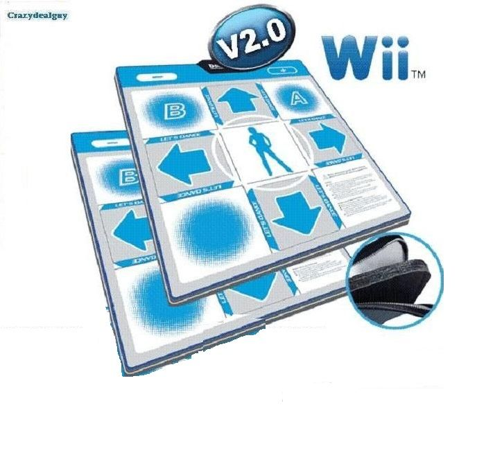 how to hook up dance mat for wii