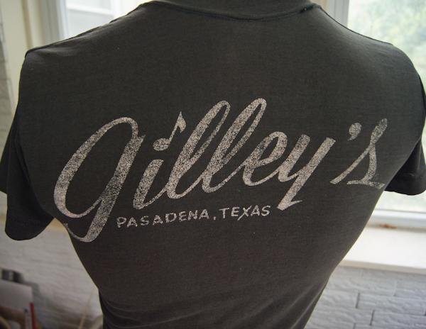 Vintage 70s gilley 39 s t shirt pasadena texas honkey tonk for T shirt printing pasadena tx