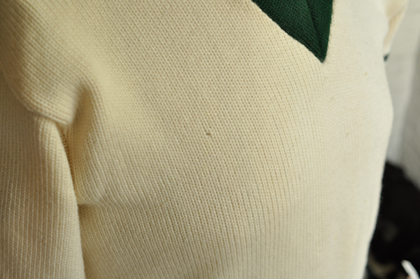 Chicago Knitting Mills : Vintage varsity letterman school sweater wool logan